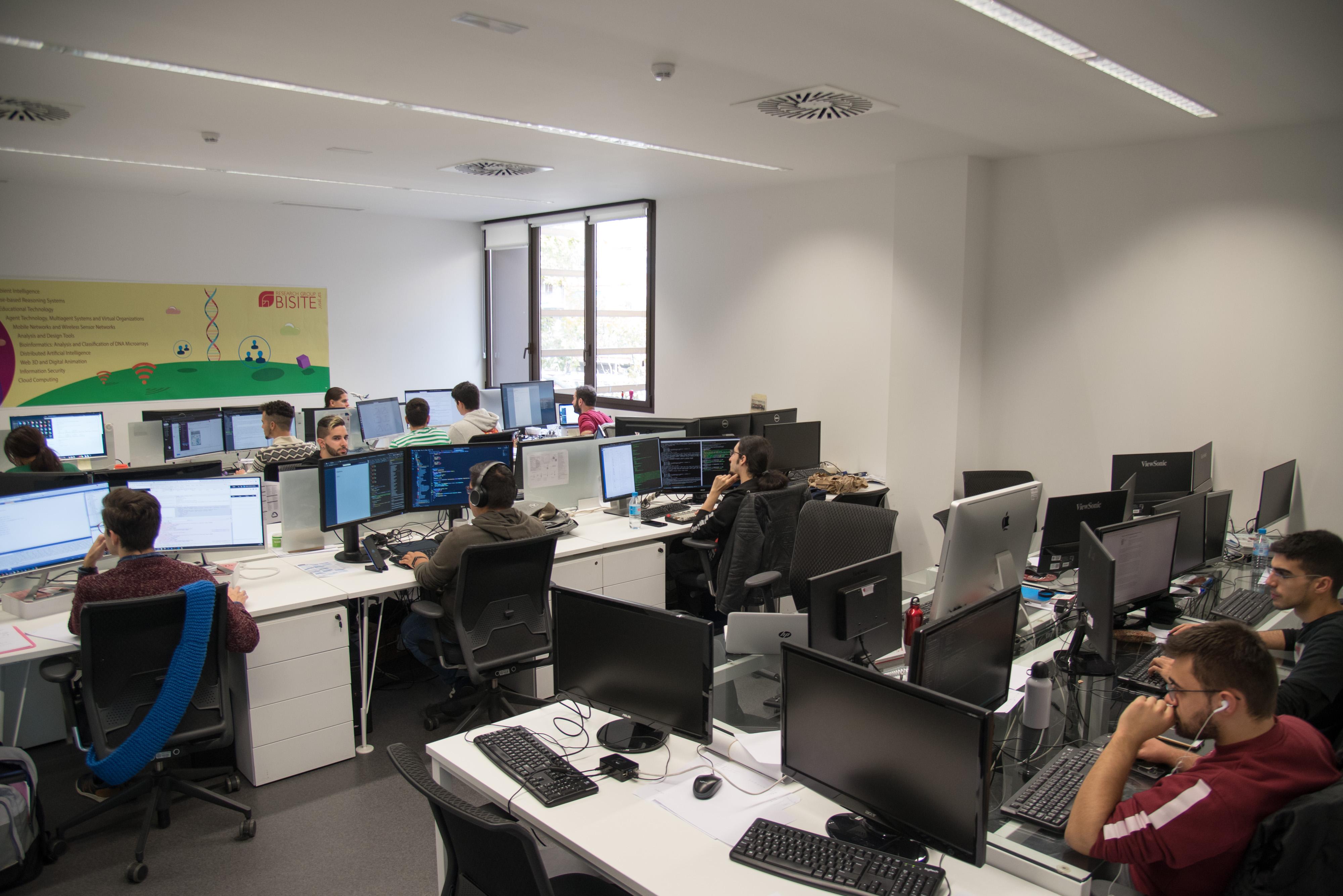 Laboratorios del Grupo de Investigación BISITE1