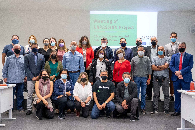 Última reunión del proyecto LAPASSION