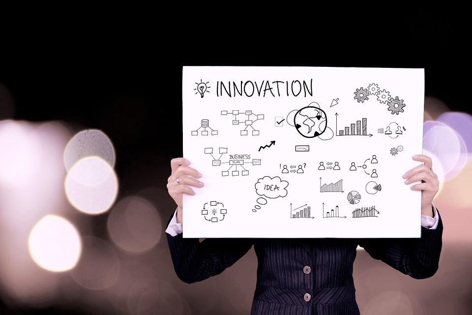 Negocio, Innovación, Dinero, Icono, Gráfico