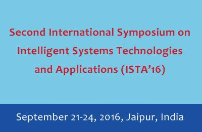 Program Chair of The Second International Symposium on Intelligent Systems Technologies and Applications