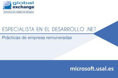 Especialista en el desarrollo de aplicaciones web con tecnología .NET