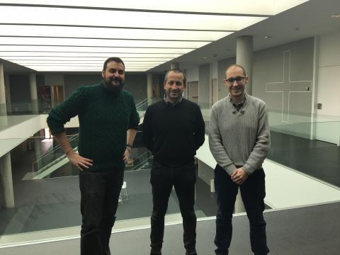 Daniel Santos, Pierpaolo Vittorini & Fernando De la Prieta